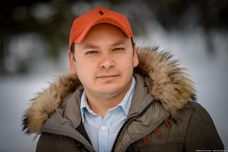 Dmitry / Stranger portrait / On the street / Novosibirsk / Siberia / 03.03.2015