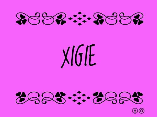Buzzword Bingo: Xigie