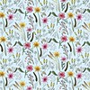 Feeling optimistic with my latest Spring flowers design! #fineliner #watercolours #drawing #illustrator #flowers #spring #pattern #fabricdesign #surfacepatterndesign #surfacedesign