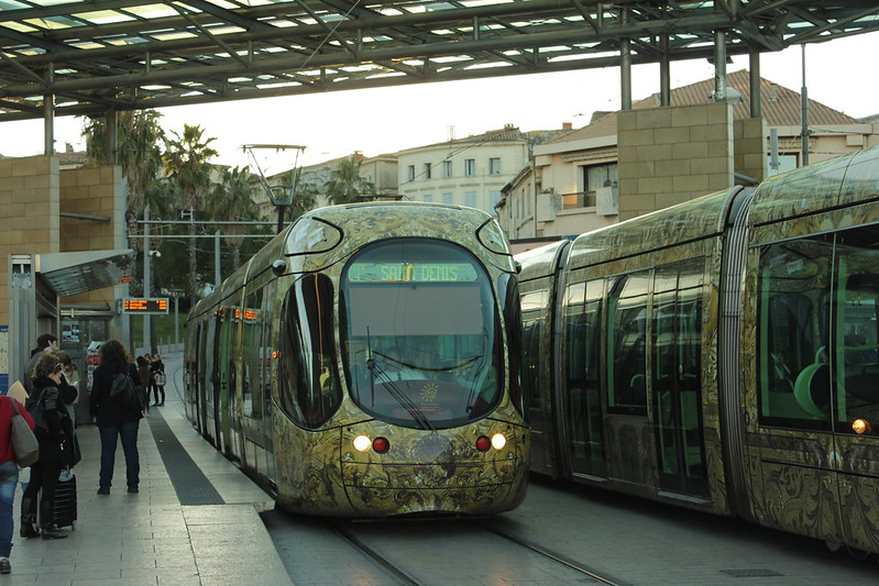 Trams, Montpellier, France
