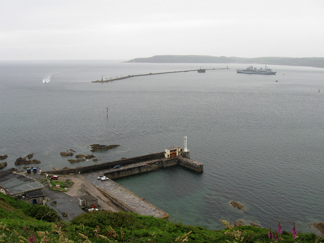 Plymouth sound from Jennycliff