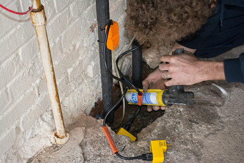 plumber caulking - my house - 2015-03-13