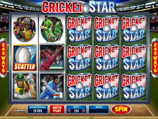 Cricket Star slot game online review