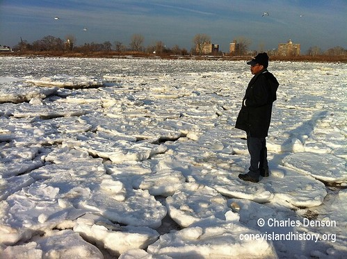 Frozen Coney Island Creek