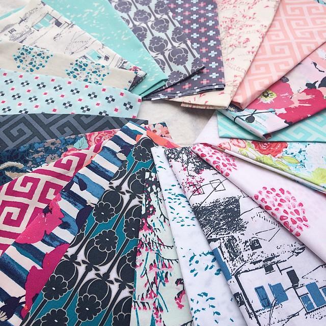 #skopelosfabric all prints💗 #artgalleryfabrics #KatarinaRoccella #fabrics