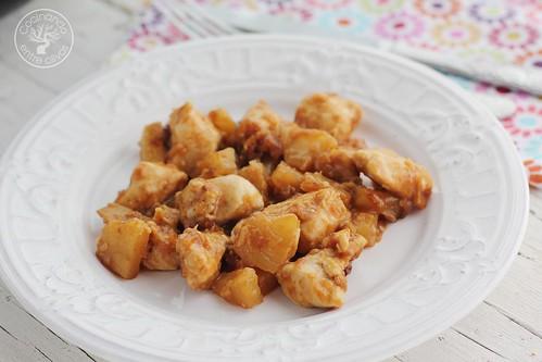Pollo a la hawaiana www.cocinandoentreolivos.com (2)
