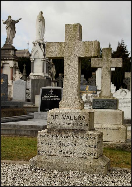 Grave of Eamon De Valera