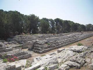 Bild av Ara di Ierone. syracuse italie siracusa autel île sicile neapolis parcarchéologique