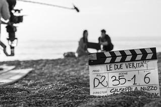 29 Le verità - Backstage - Spiaggia