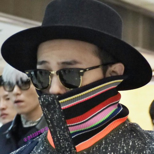 Big Bang - Gimpo Airport - 15jan2015 - G-Dragon - NoiizVip - 02