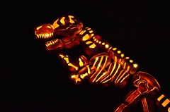 T. Rex Jack O'Lanterns