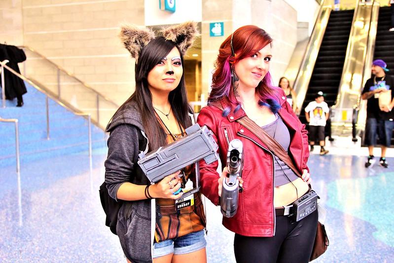 rocket & starloard cosplay