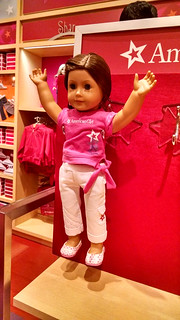 Occupy the Dollhouse: Die-In at American Girl Place