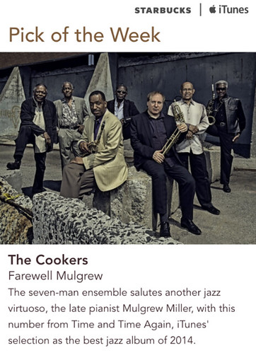 Starbucks iTunes Pick of the Week - The Cookers - Farewell Mulgrew