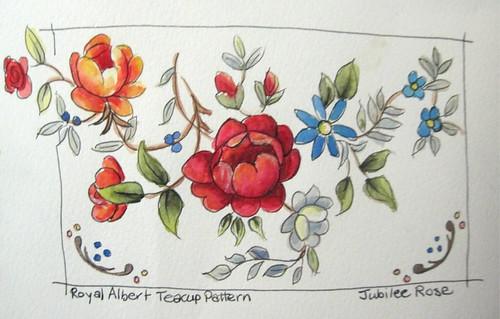 Jubilee Rose Pattern