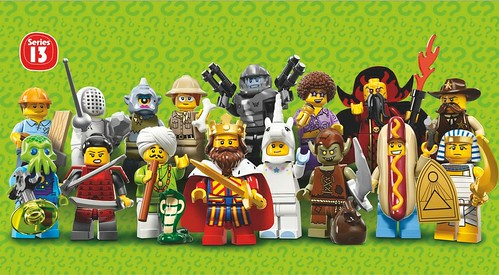71008 Collectable Minifigures Series 13 LEGO Minifigures Series 13