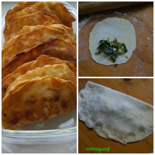 ıspanaklı hamur kızartması tarifi