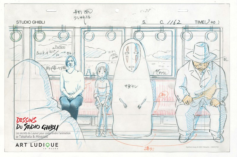 Ghibli fim cell, Musee Art Ludique