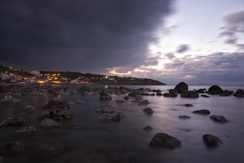 sunset sea sky clouds rocks crete rethymno κρήτη σύννεφα θάλασσα δύση βράχια ρέθυμνο ουρανόσ