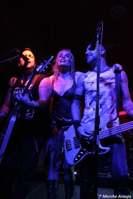MISS OCTUBRE en el Sala WE ROCK  (Madrid, 22/11/2014)