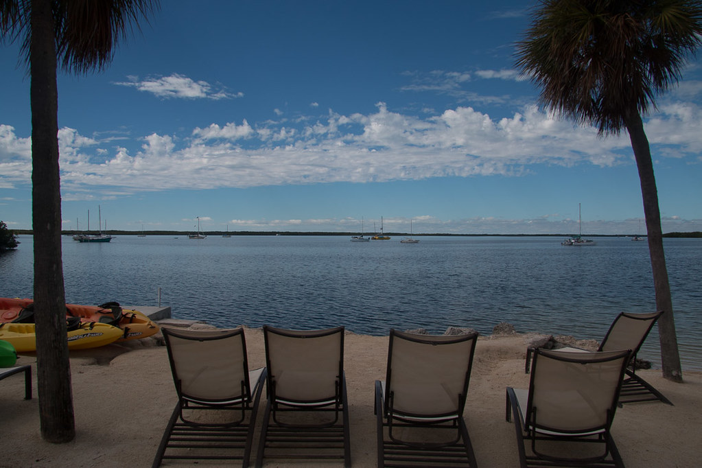 Beach at Hampton Inn Key Largo