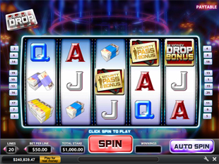 The Money Drop slot game online review