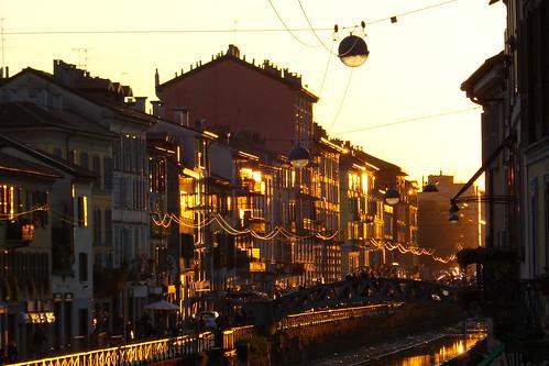 I colori pomeridiani del #Naviglio Grande by Ylbert Durishti