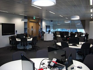 Active Teaching Space (classroom) within Library