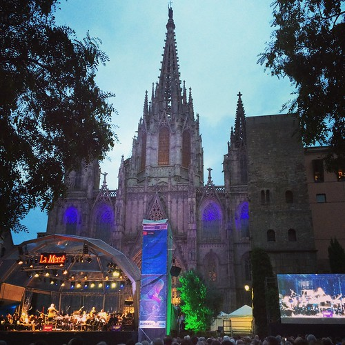 Barcelona & the La Mercè festival, September 2014