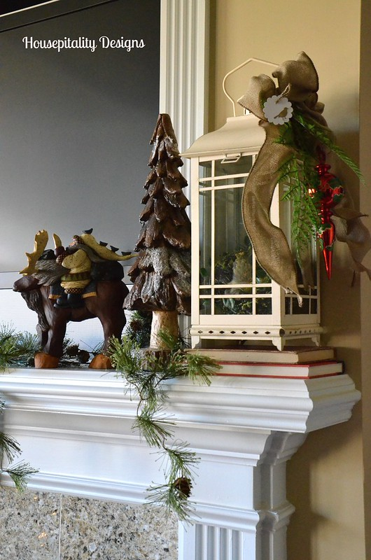 Media Room Mantel-Christmas 2014-Housepitality Designs