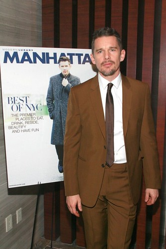 Ethan Hawke==.Modern Luxery Manhattan Celebrates Cover with Ethan Hawke==.Park Hyatt, 153 West 57th Street, NYC.==.January 6, 2015==.©Patrick Mcmullan==.photo-Sylvain Gaboury/PatrickMcmullan.com==.==