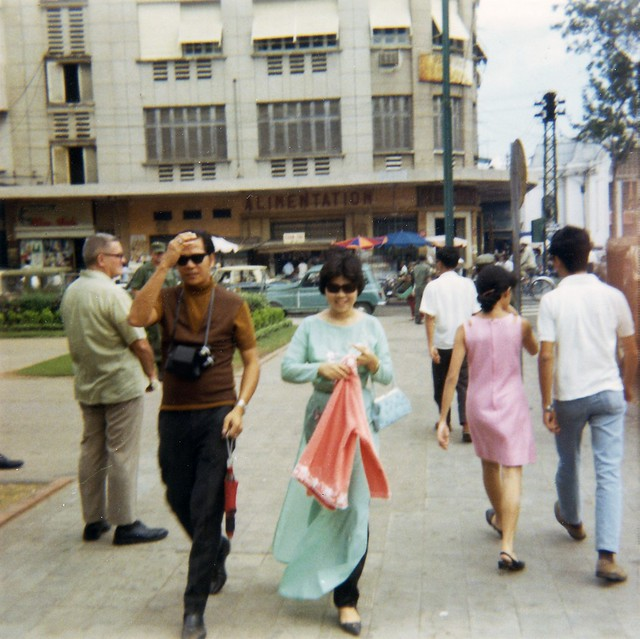 Saigon 1969 - Lam Son Square - Photo by Bob Lee