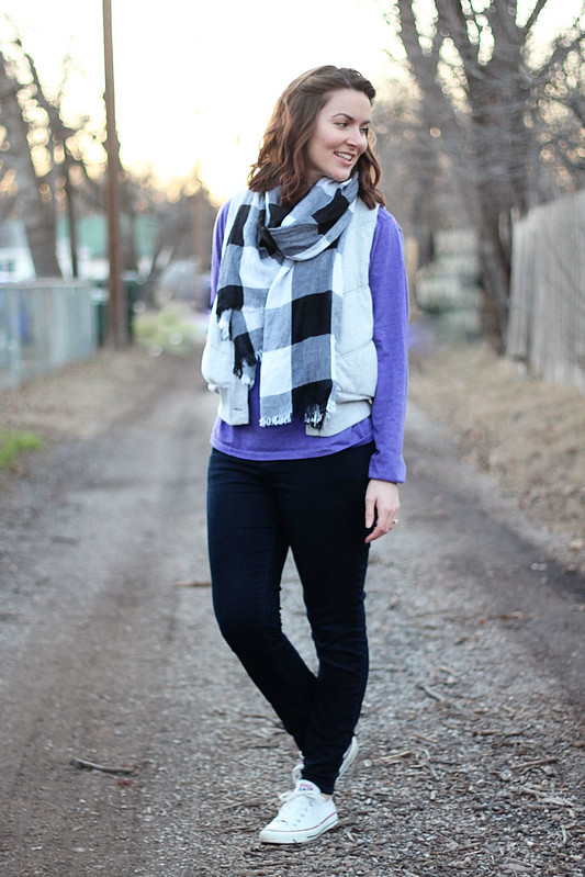 purple-shirt-plaid-scarf-vest-2