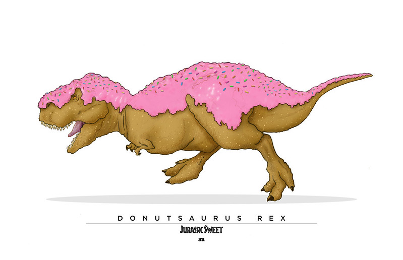Donutsaurus Rex