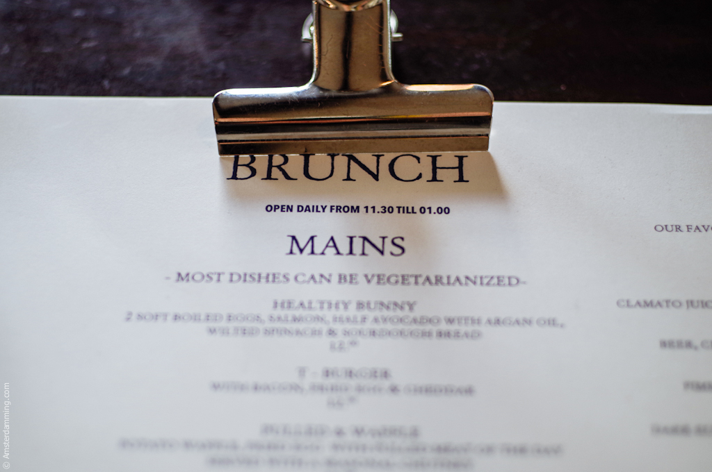Amsterdam, Brunch at Bennys & Marys