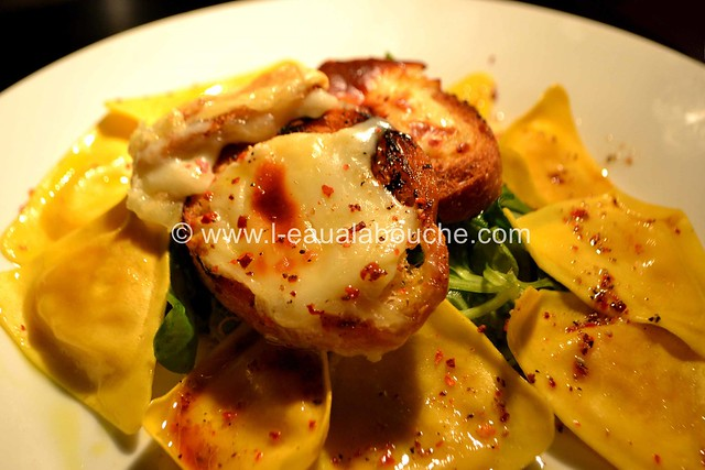 Salade aux Ravioli & Cabécou Gratiné © Ana Luthi Tous droits réservés 01 Gratiné © Ana Luthi Tous droits réservés 20