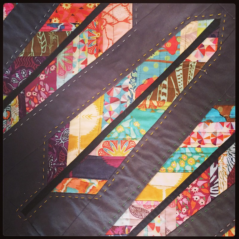feather quilt hand quilting
