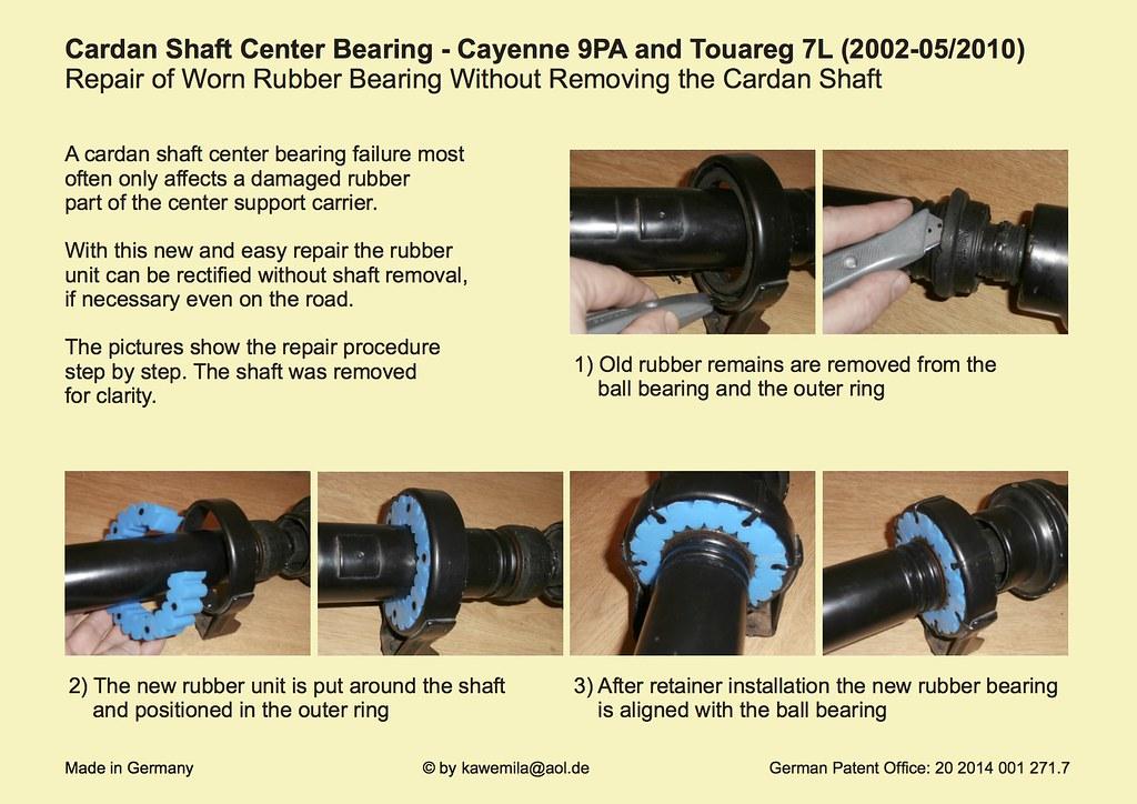 Drive Shaft Bearing Failure Page 37 Club Touareg Forums