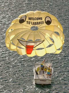 Welcome to Labadee Haiti on the open parasail