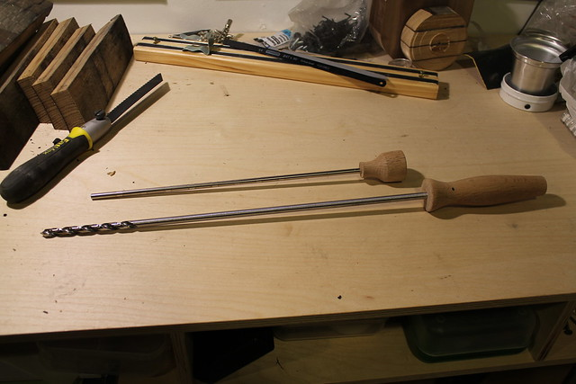 Oak Handles for Ram Rod and Auger