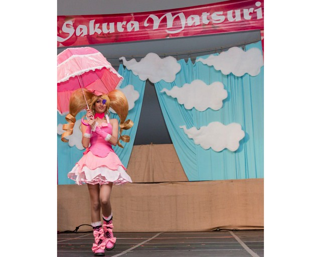The Sakura Matsuri Cosplay Fashion Show. Photo by Liz Ligon.