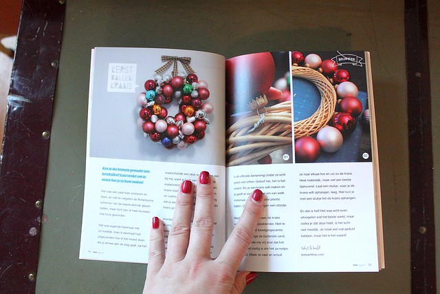 My article was published in a Dutch craft magazine