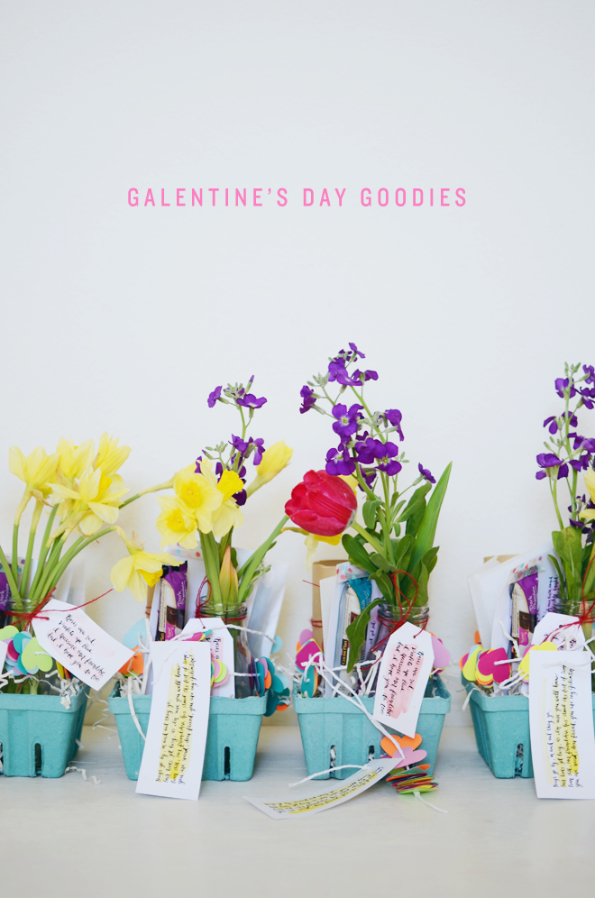 galentine's day goodies