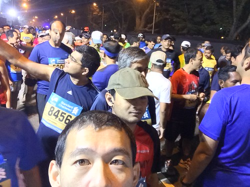 3min to start Mumbai Marathon 2015