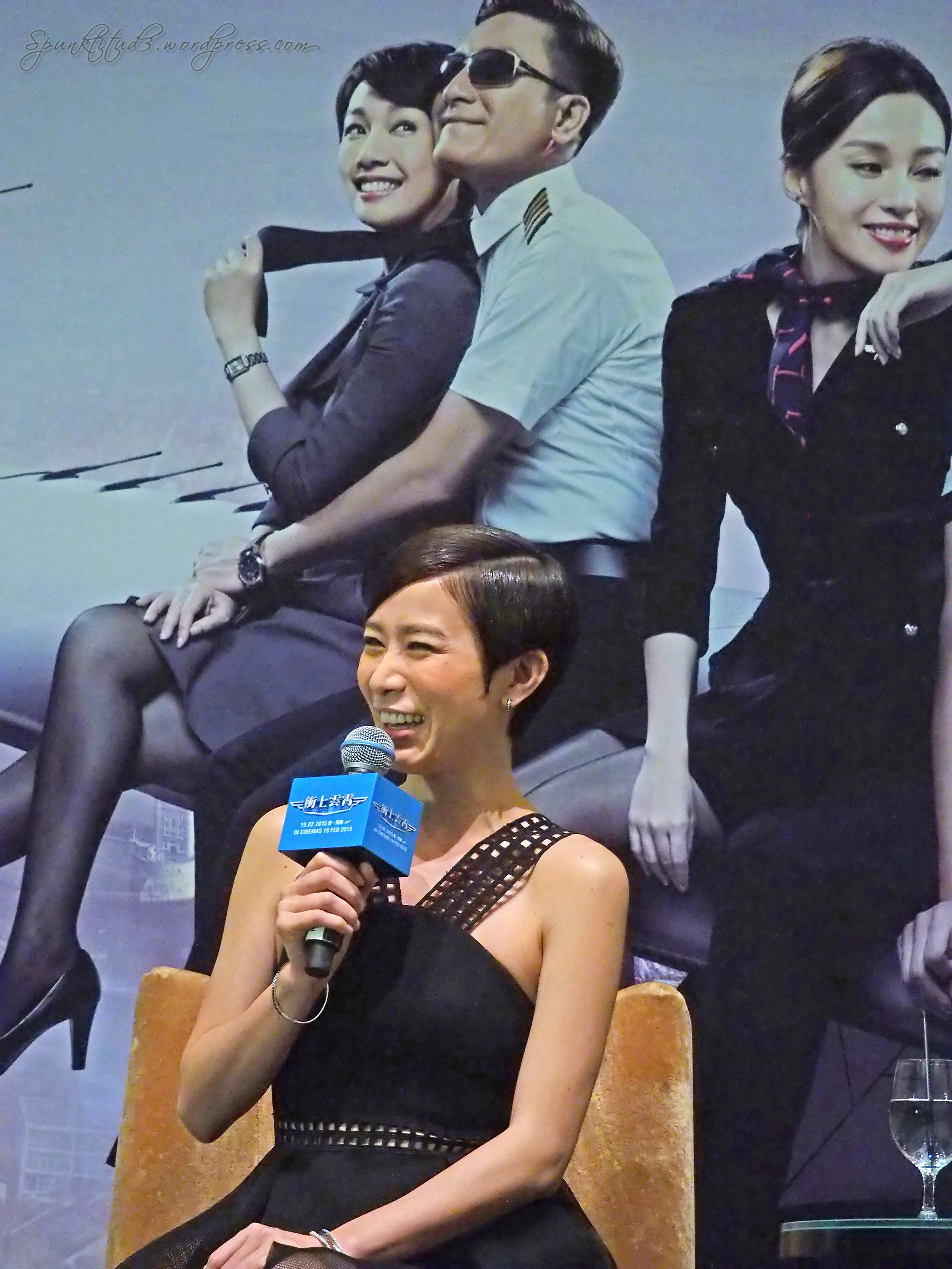 Triumph in the Skies 衝上雲霄 Movie Press Conference