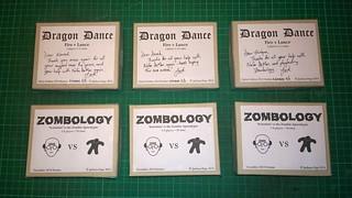 NaGa DeMon winners' copies of Dragon Dragon
