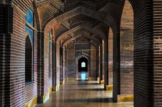 Image of Shah Jahan Mosque. pakistan heritage architecture landscape muslim pray mosque karachi artifact sindh hdr shah jahan shahjahan thatta