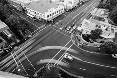Camperdown traffic B&W