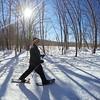 Snowshoeing. #GoPro #wintersnowshoetour