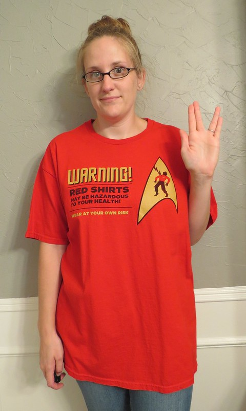 Star Trek Tee - Before